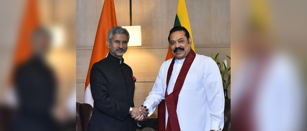 Honorable Prime Minister Mahinda Rajapaksa discussed bilateral ties with Honorable External Affairs Minister Shri S. Jaishankar.